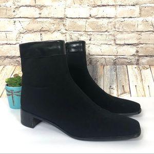 Stuart Weitzman gore-Tex ankle boots black